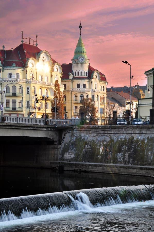 Rumänien Oradea transilvania royaltyfri bild
