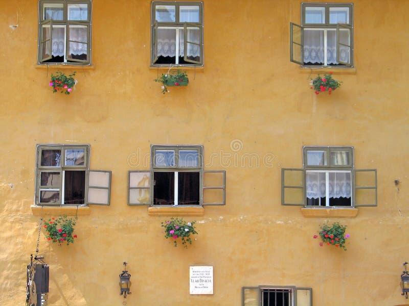 Rumänien, Sighisoara lizenzfreies stockbild