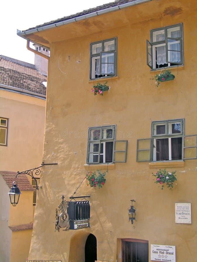 Rumänien, Sighisoara lizenzfreie stockfotografie
