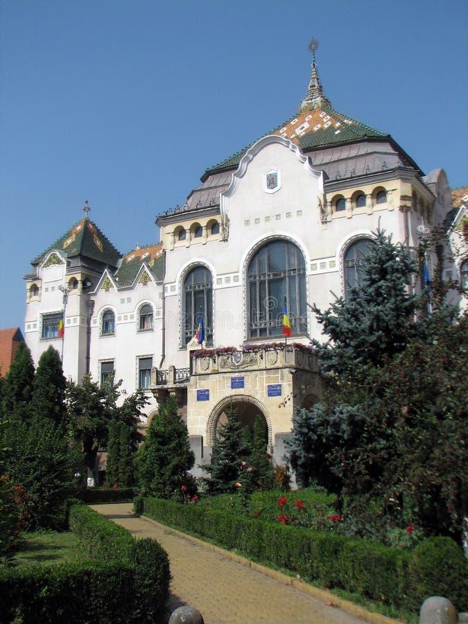 Rumänien. Tirgu Mures lizenzfreie stockfotografie
