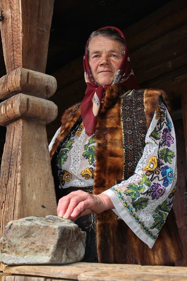 Rumänische Frau lizenzfreies stockbild