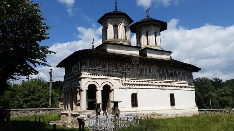 Rumänische orthodoxe Kirche stockbild