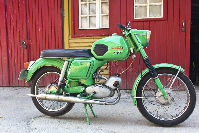 Rumänische Supermodell motocycle Mobra 50 lizenzfreie stockfotos