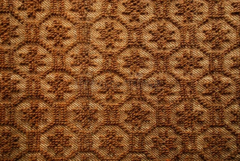 Rumänische traditionelle woolen Wolldecke stockbild