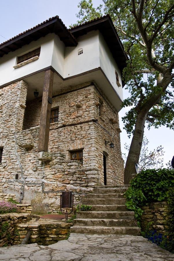Rumänisches Königin-Schloss stockfotografie
