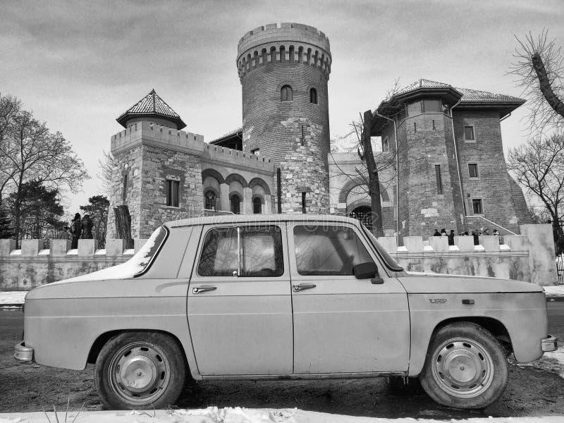 Rumänsk bil arkivbilder