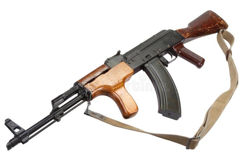 Rumänsk version för Kalashnikov AK 47 arkivbild
