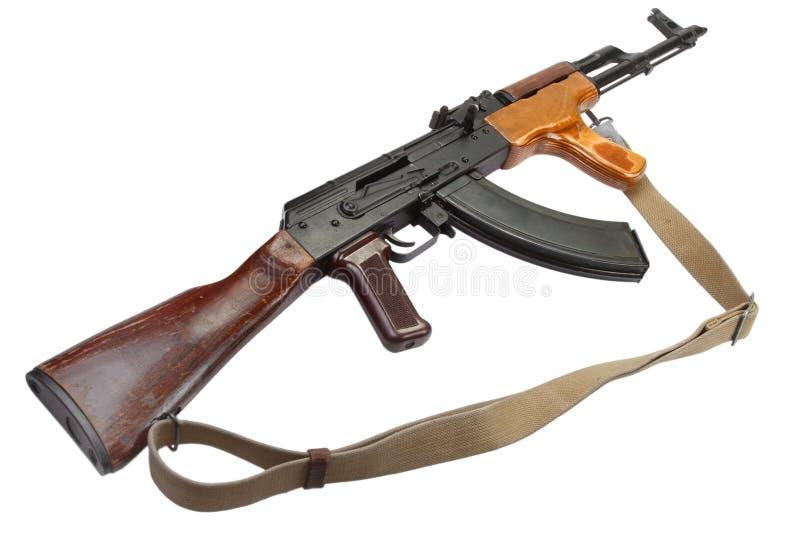 Rumänsk version för Kalashnikov AK 47 royaltyfri fotografi