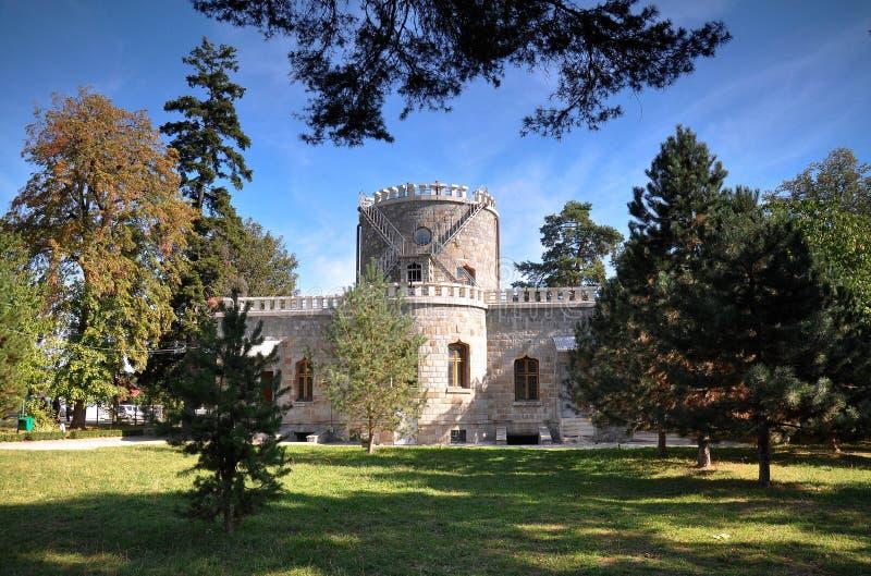 Rumänskt slott royaltyfri foto