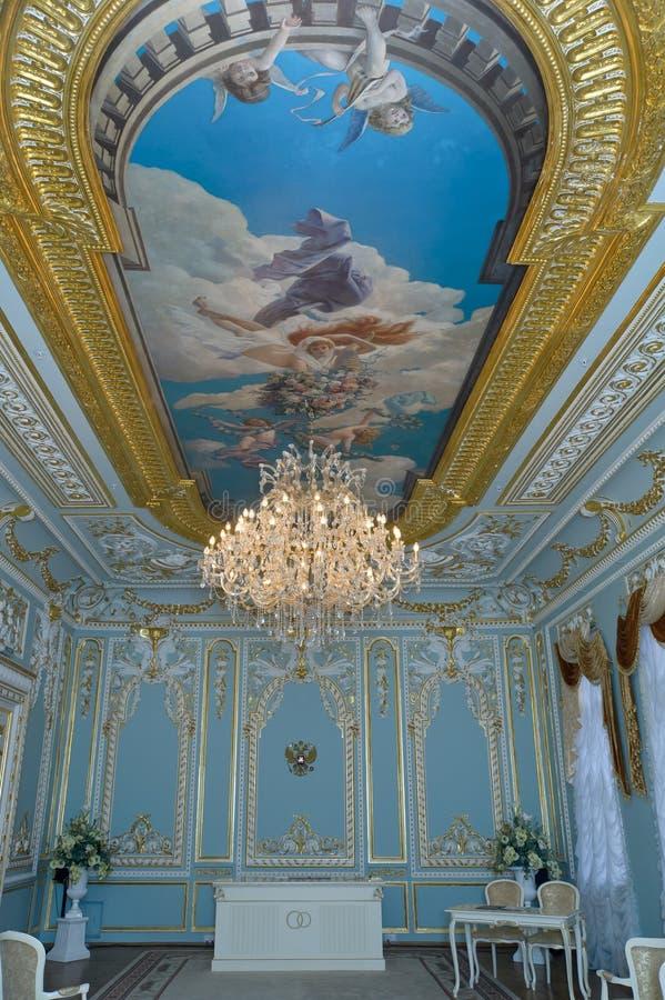 Rum av bröllop arkivbilder