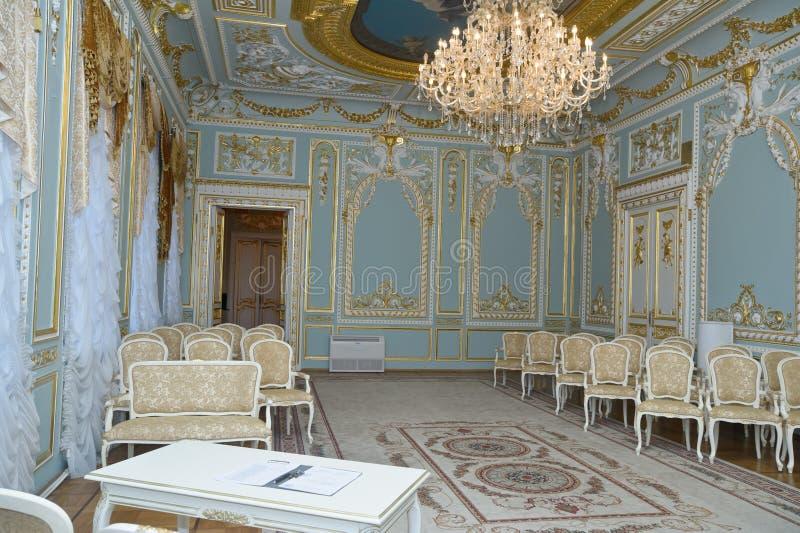 Rum av bröllop royaltyfri bild