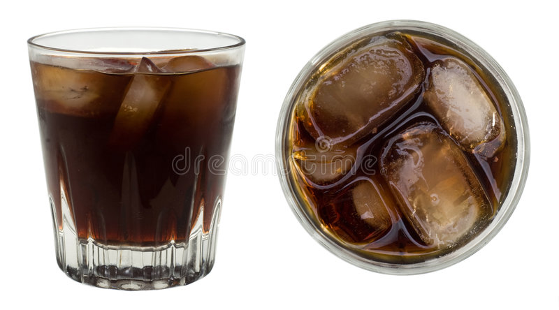 Rum and coke stock image image of glassware clean for White rum with coke