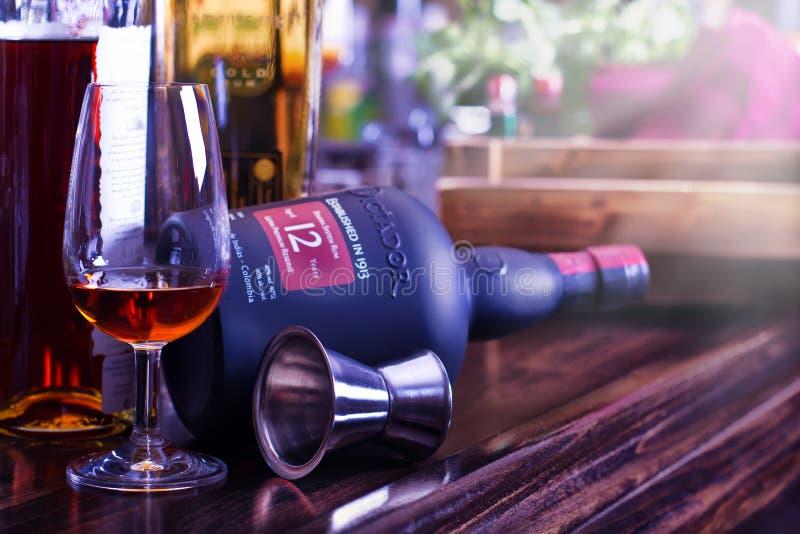 Rum drink royalty free stock photos