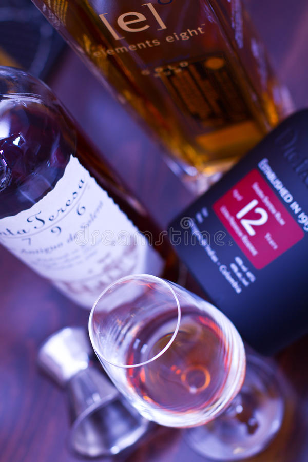 Rum drink royalty free stock photo
