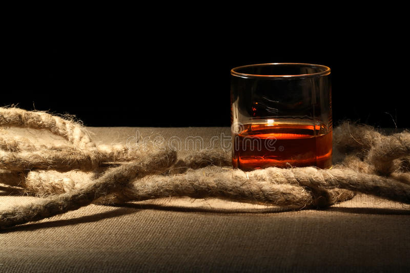 Rum en Kabel stock foto