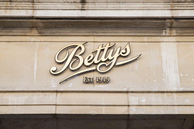 Rum för Bettys kaféte i York fotografering för bildbyråer