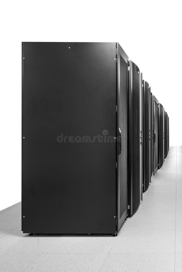 Rum för nätverksserver arkivbild