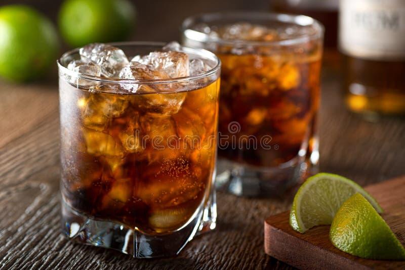Rum i kola obrazy royalty free