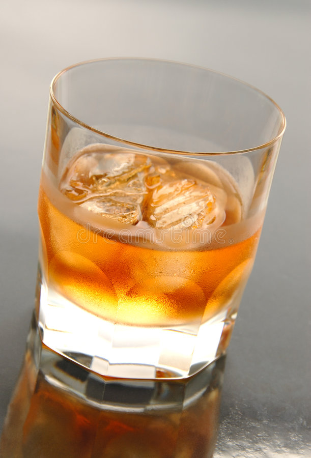 Rum on the Rocks stock image