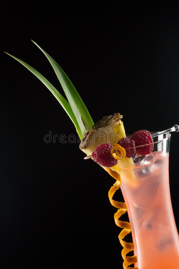 Rum Runner - Most Popular Cocktails Series Stock Photo