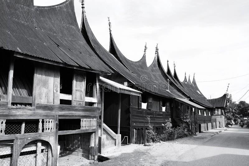 Rumah Gadang royalty-vrije stock foto's