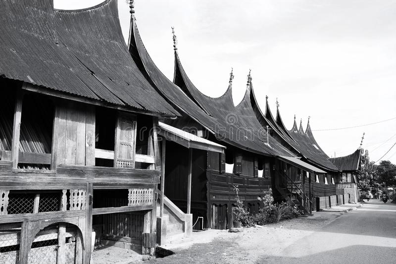 Rumah Gadang στοκ φωτογραφίες με δικαίωμα ελεύθερης χρήσης