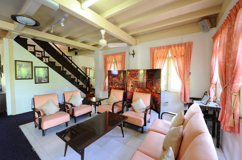 Rumah Merdeka stock photography