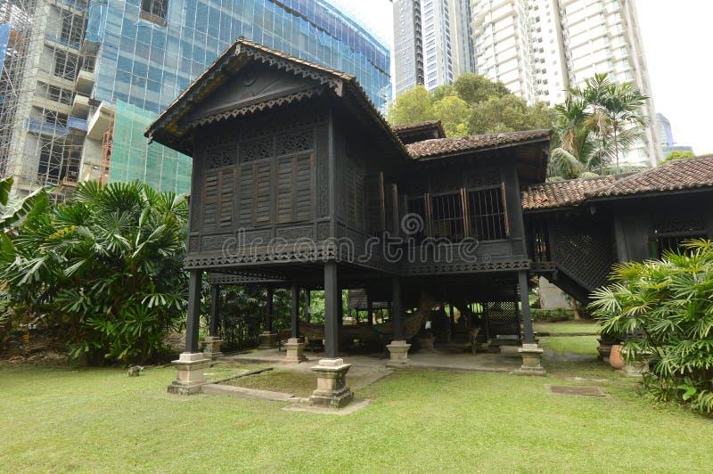 Rumah Penghulu Abu Seman fotografia stock libera da diritti