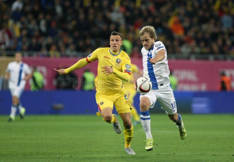Rumania contra Finlandia imagen de archivo