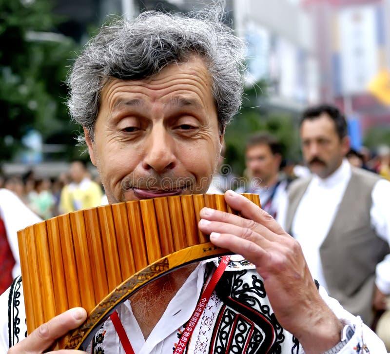 Rumanian man royalty free stock photography