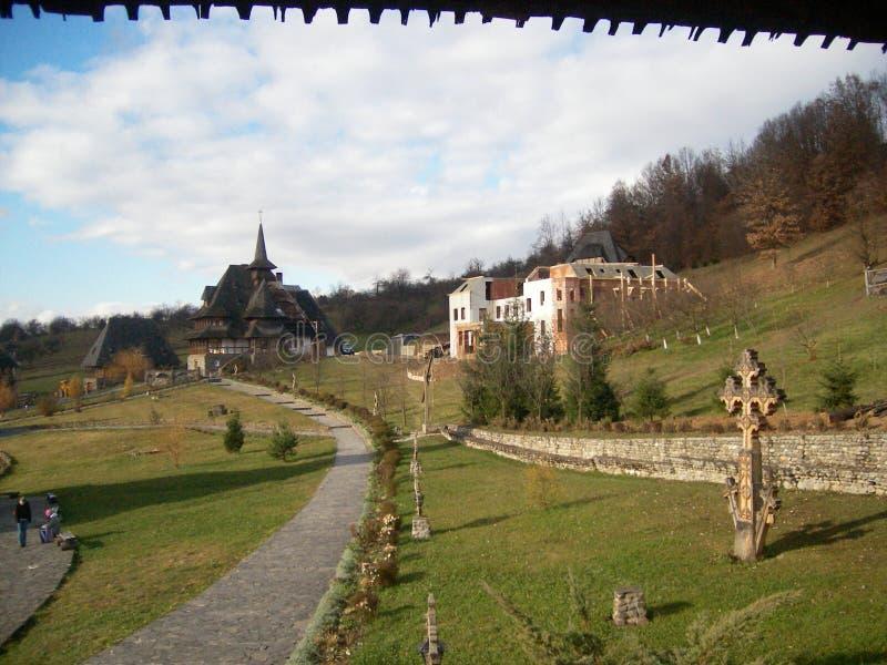 Rumano Monastary fotografía de archivo libre de regalías