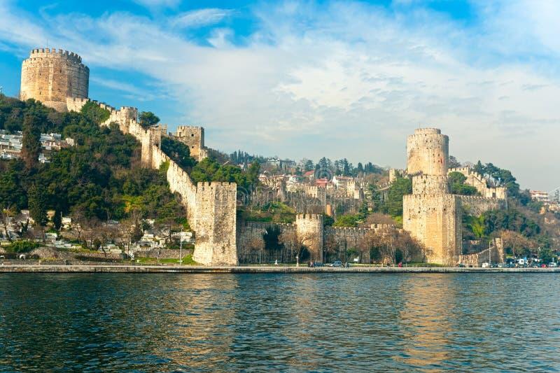 Rumeli Fortress, Istanbul, Turkey. stock photos