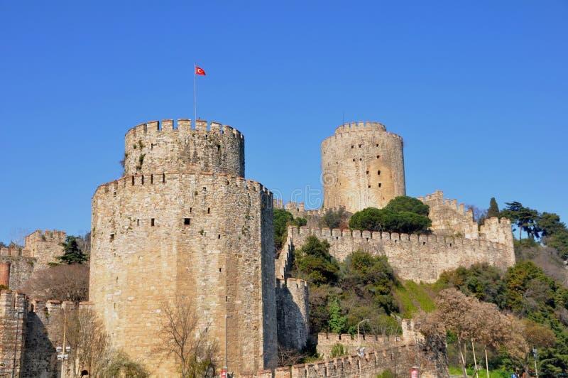 Download Rumeli Fortress stock image. Image of city, landmark - 39512735