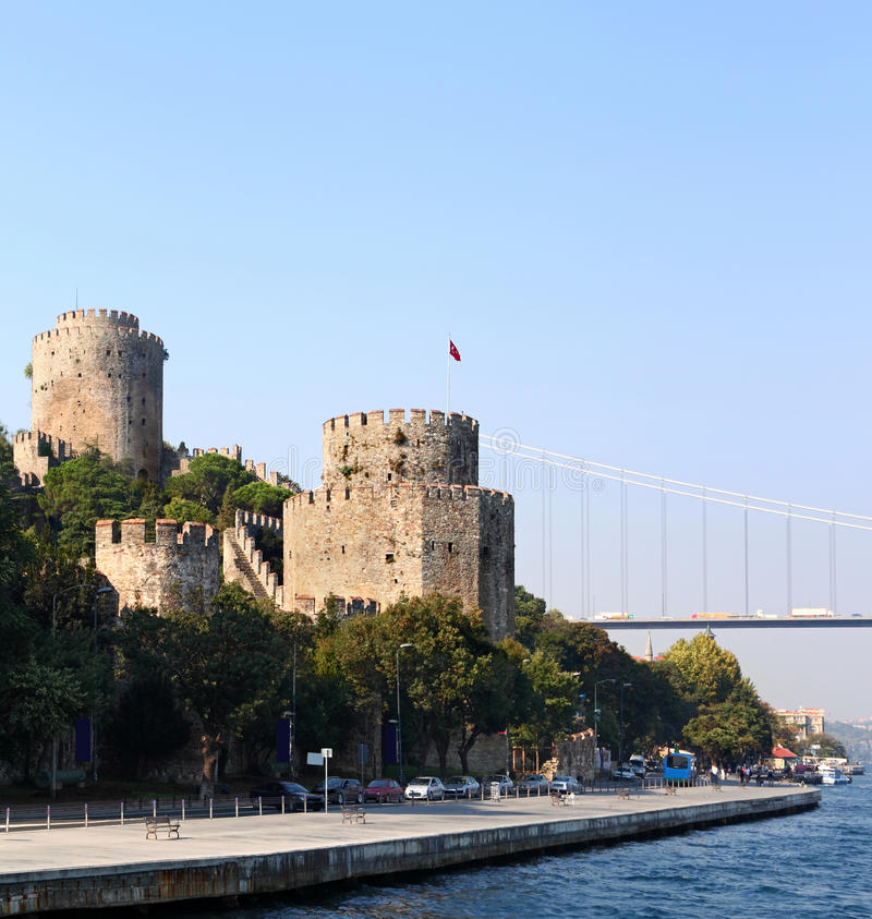 Download The Rumeli Fortress, Turkey Stock Photo - Image: 22113690