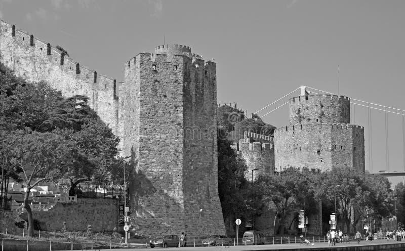 Rumelian Schloss lizenzfreie stockfotos