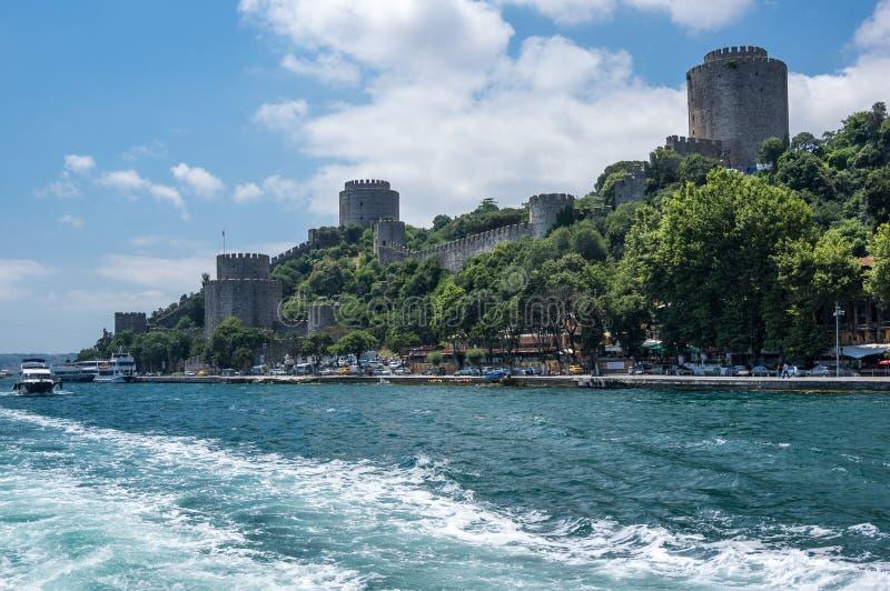 Rumelian-Schloss in Istanbul lizenzfreie stockfotos