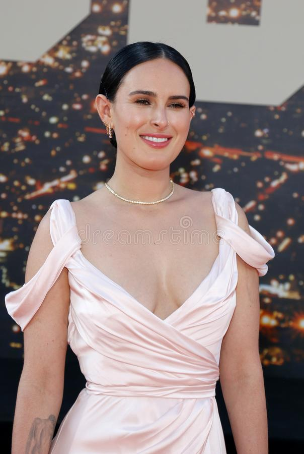 Rumer Willis obrazy stock