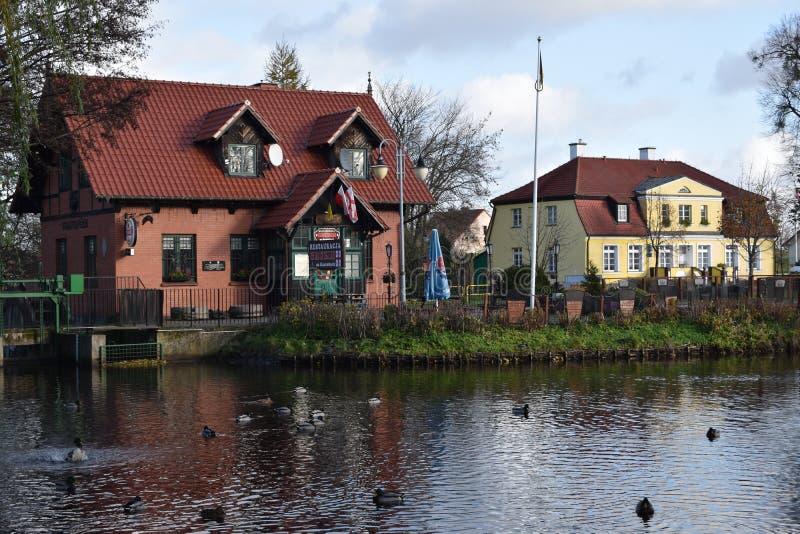 Rumia Муниципальный парк в Rumia, Польше стоковое фото