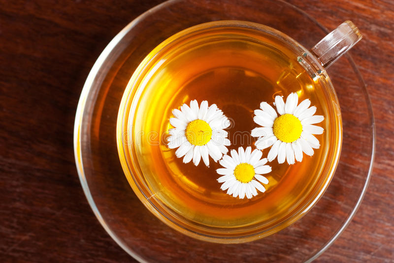 rumianek herbata obraz stock