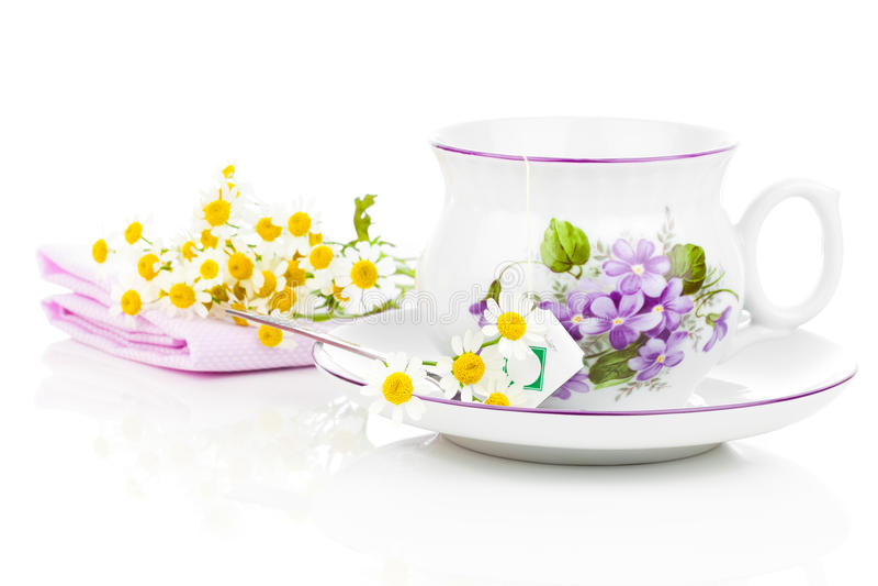 Rumianek herbata zdjęcie stock