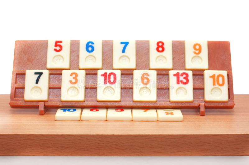 Rummy board game royalty free stock photos