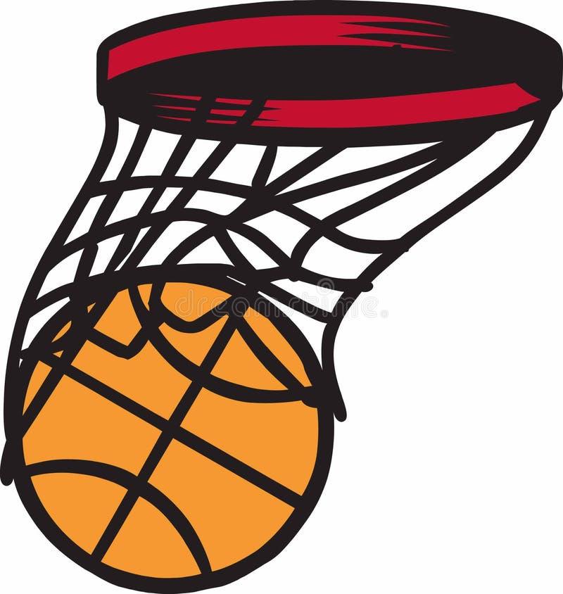 Rumore ritmico di pallacanestro illustrazione vettoriale
