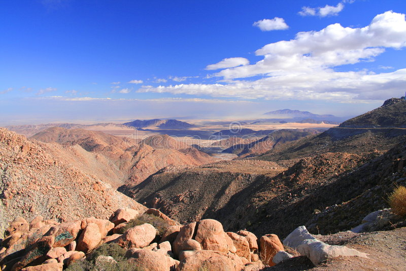 Rumorosa Wüste stockbild
