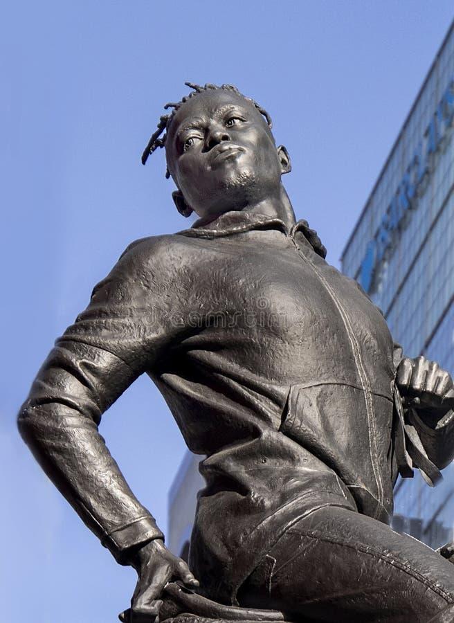 Rumors of War Statue Detail stock images