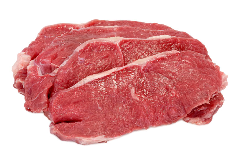 Download Rump steaks stock photo. Image of grocery, nutrition, isolated - 5155304