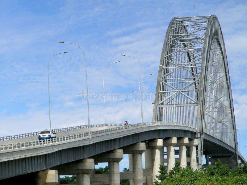 Rumpiang Bridge stock image