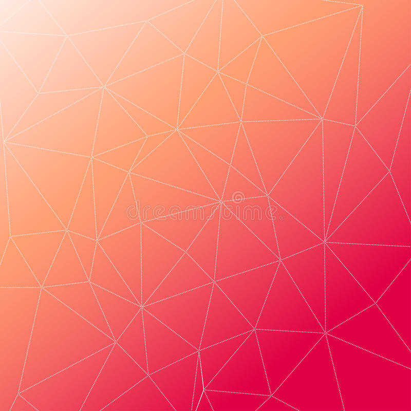 Rumpled multiplayered il fondo geometrico di struttura del modello di poli stile basso triangolare illustrazione vettoriale