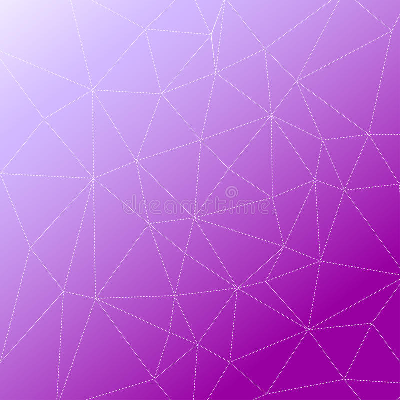 Rumpled multiplayered le fond géométrique de texture de modèle de bas poly style triangulaire illustration stock
