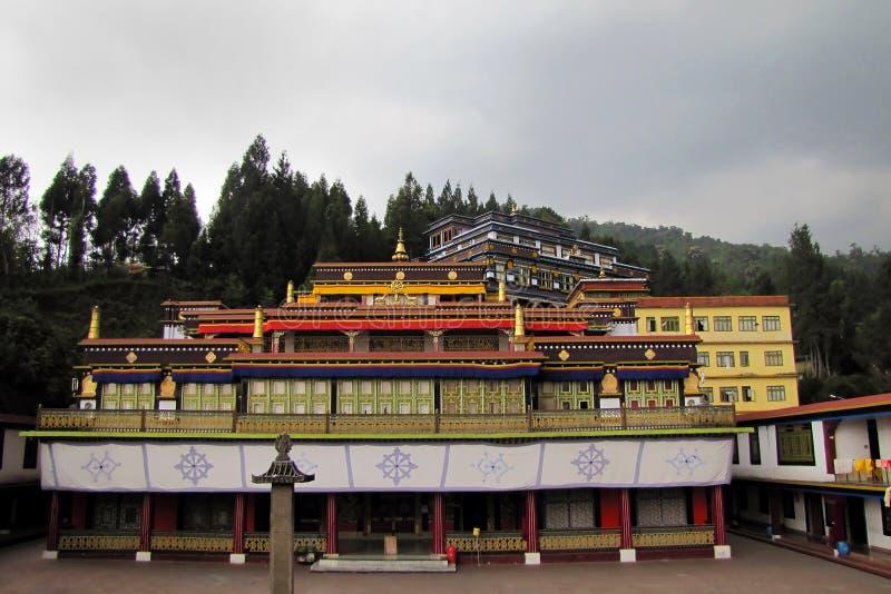 Rumtek Gompa au Sikkim, Inde photos stock