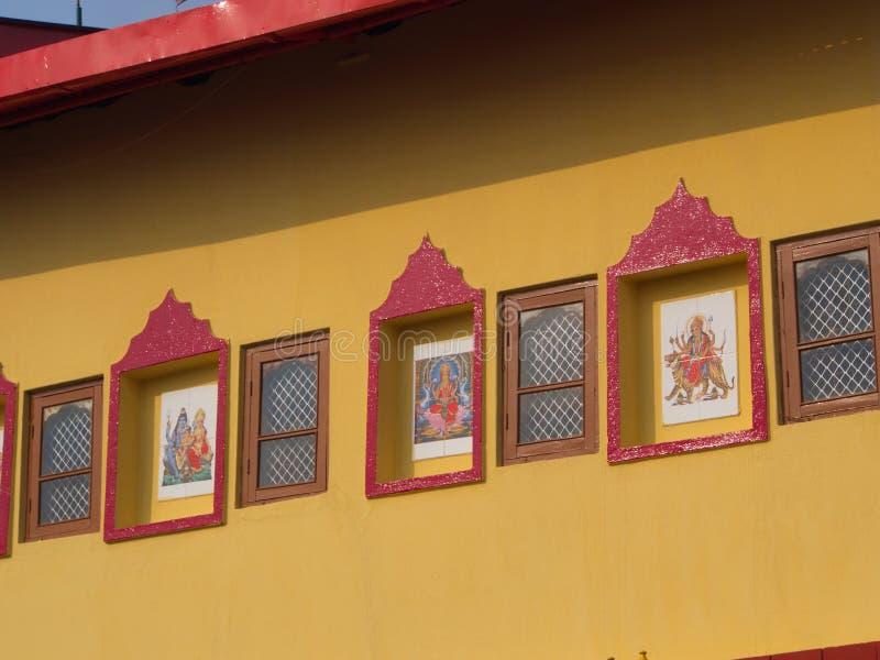 Rumtek Monastery near Gangtok. Sikkim, India, 2013 April 14th royalty free stock images